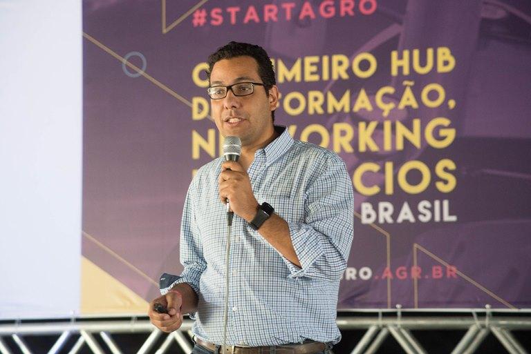 José Damico, sócio da startup Scicrop.